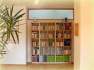 Bücherregal Schiebetür bücherwand